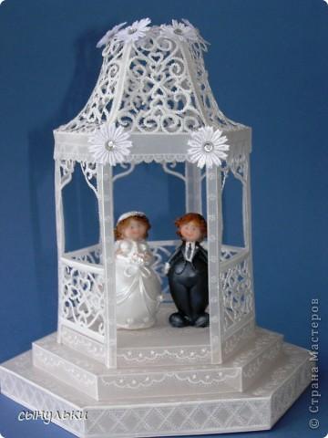 Свадебная беседка фото 1