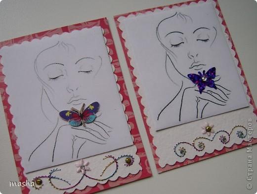 Приглашаю мастериц, кто выразил симпатию к моим карточкам, может эта серия Вам понравится. фото 4