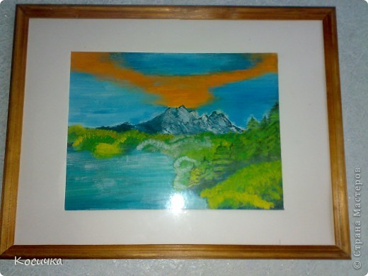 Спасибо Галёне, шикарные МК я по ним столько картин нарисовала, прям на одном дыхании. Многие уже разошлись,так сказть но частным коллекциям... фото 2