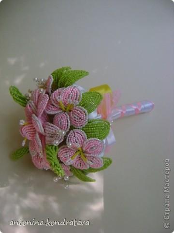 """Букет невесты """"Розовая мечта"""" фото 2"""