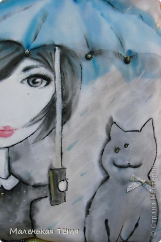 """Сама идея сумки с ножками пренадлежит не мне, а Ане Аркелян, но Аня любезно поделилась своим мастерством в программе """"Чердак"""" на телеканале """"Загородная жизнь"""". у нее еще вроде бы сайт есть... (сумки.нет) фото 3"""