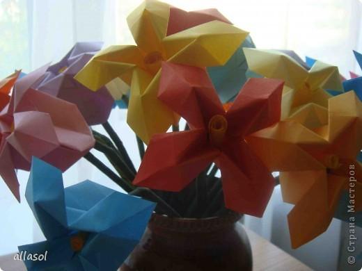 Здравствуйте! Вот снова цветочки из книги Афонькиных. Как всегда не удержалась от экспериментов.   фото 3