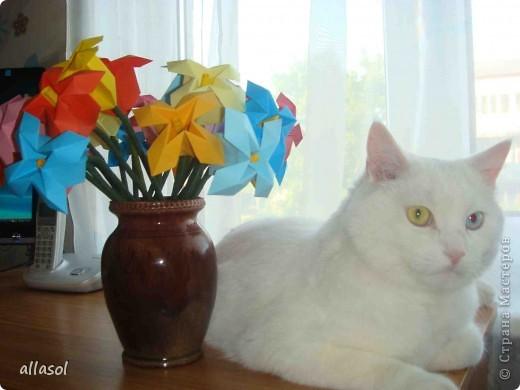 Здравствуйте! Вот снова цветочки из книги Афонькиных. Как всегда не удержалась от экспериментов.   фото 4