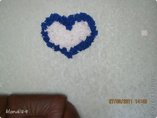 Гофрированное сердце из роз! фото 2