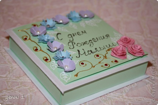 Коробочки делала на дни рождения и на свадьбу. МК нашла в интернете (пороюсь и добавлю ссылку позже). фото 2