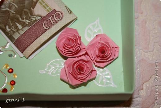 Коробочки делала на дни рождения и на свадьбу. МК нашла в интернете (пороюсь и добавлю ссылку позже). фото 5