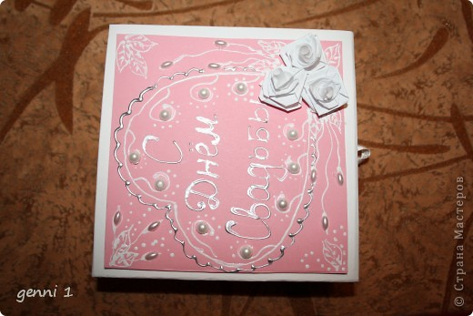Коробочки делала на дни рождения и на свадьбу. МК нашла в интернете (пороюсь и добавлю ссылку позже). фото 11