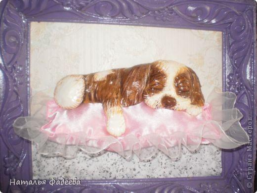 Увидела в Стране Мастеров такого щенка у Решенсковой Екатерины и вот вуаля, у меня такой же ! фото 1