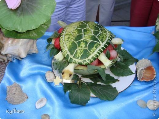 Вчера в моем городе прошел самый летний фестиваль - Праздник астраханского арбуза.  С 12 до 17 часов на центральной площади города были представлены наши арбузы во всей их красе. Смотрите, и завидуйте :) Ну, или просто порадуйтесь вместе с нами.  фото 14