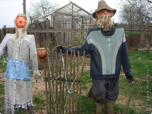Мои куклы  в саду фото 1