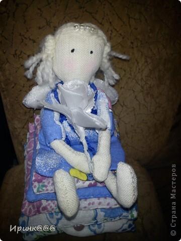 принцесса на горошине(подушки из носовых платочков)