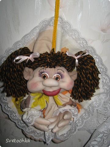Готова еще одна кукляшка. Это подарок для любимой мамочки на день рождения. фото 2