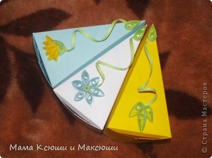 Этот тортик я сделала для своих племянников на день рождения! Способ изготовления здесь  http://stranamasterov.ru/node/25622?c=favorite, http://stranamasterov.ru/node/206005?c=favorite. Это мой первый опыт квиллинга. фото 4