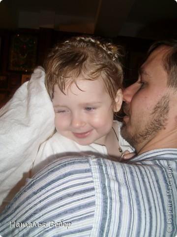 Вчера произошло очень важное событие в жизни нашего ребенка и нашей тоже,мы крестили нашу Софью. фото 1