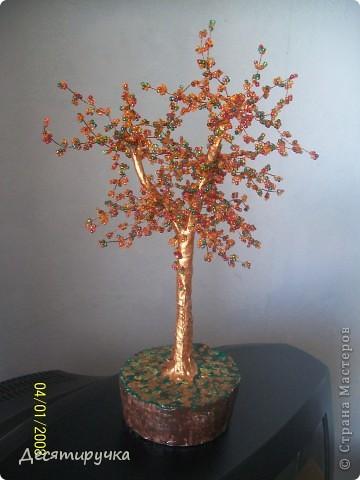 бисерные деревья.. фото 5