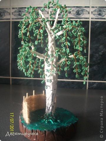 бисерные деревья.. фото 2