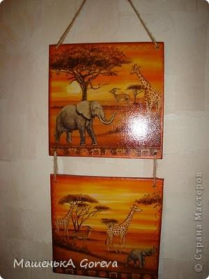 """Панно """"Африка"""" фото 1"""
