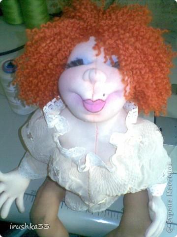 Ура мы наконецто оделись .Манерная куколка. фото 5