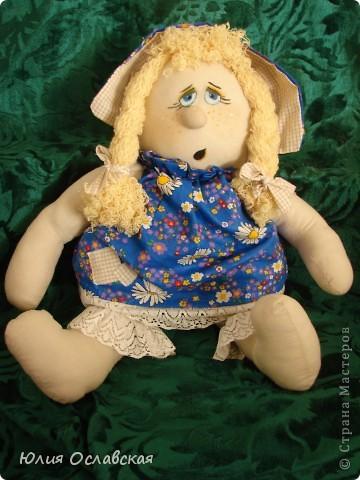 Маришка. Кукла курносик. Делала по мк, который есть в интернете http://www.liveinternet.ru/users/3614933/post149705695/ фото 4