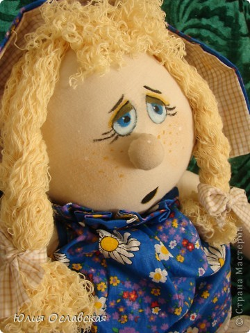 Маришка. Кукла курносик. Делала по мк, который есть в интернете http://www.liveinternet.ru/users/3614933/post149705695/ фото 2