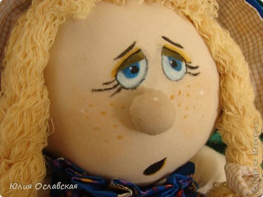 Маришка. Кукла курносик. Делала по мк, который есть в интернете http://www.liveinternet.ru/users/3614933/post149705695/ фото 3