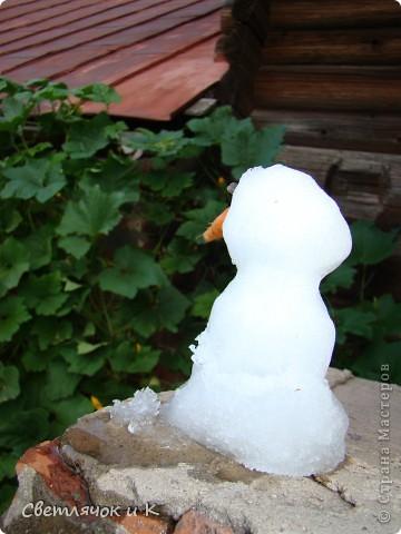 Снеговик,который увидел лето) фото 3
