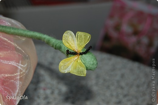Розочка. спасибо за идею NATKA13 http://stranamasterov.ru/node/230481 фото 4