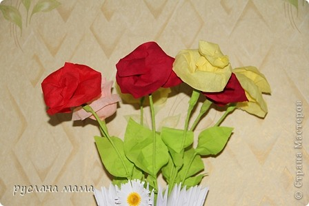 Поделка изделие 8 марта Валентинов день День матери День рождения Оригами китайское модульное ваза из модулей оригами Бумага Бумага гофрированная фото 5