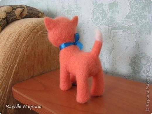 Вот такой котик у меня получился в подарок одному хорошему человеку. фото 3