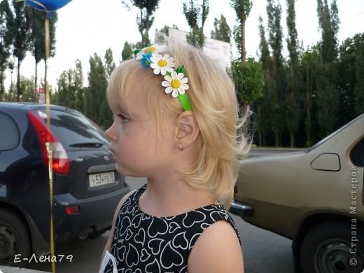 Ободочек и резиночка для волос фото 6