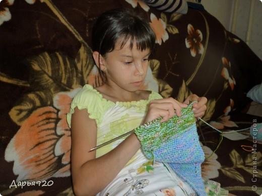 Вот такие шарфики у меня получились. фото 6