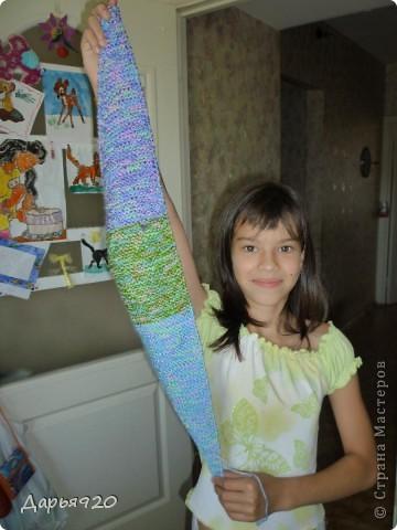 Вот такие шарфики у меня получились. фото 7