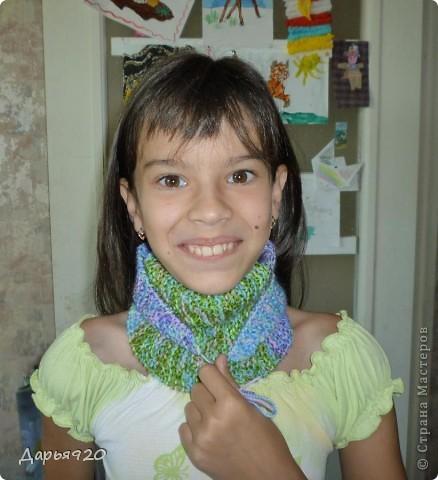 Вот такие шарфики у меня получились. фото 9