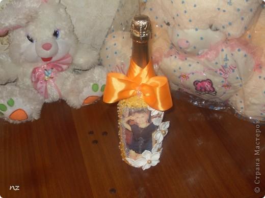 Такая интересная бутылочка появилась в благодарность хорошему человеку  фото 1