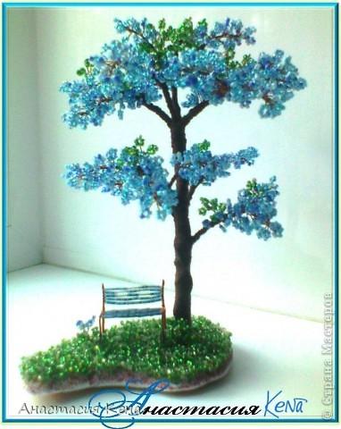 дерево объёмное biser.info - всё о бисере и бисерном творчестве.