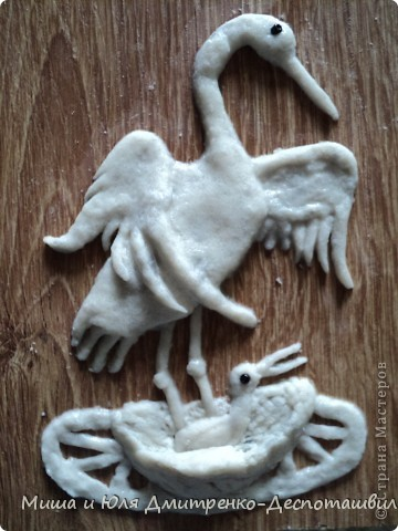 Пусть эта моя работа будет продолжением чудесного фоторепортажа от Ларисы о том, как журавлята учатся летать! http://stranamasterov.ru/node/232719 фото 7