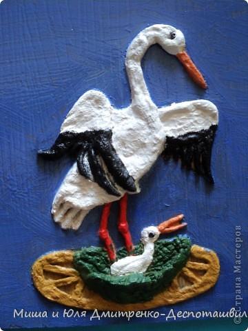 Пусть эта моя работа будет продолжением чудесного фоторепортажа от Ларисы о том, как журавлята учатся летать! http://stranamasterov.ru/node/232719 фото 1