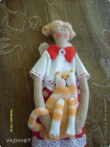 Куклы Шитьё Рыжая компания Ткань фото 2