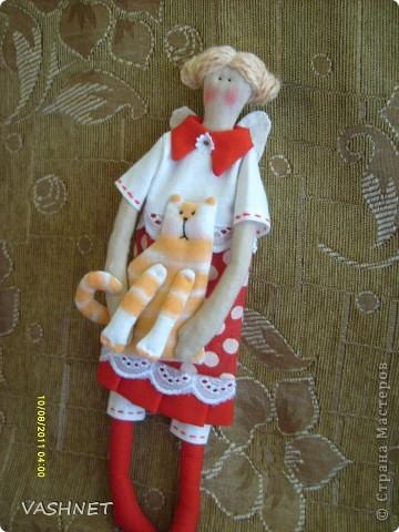 Куклы Шитьё Рыжая компания Ткань фото 1