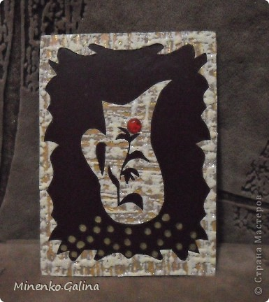 Уж очень понравился картон насыщенно-шоколадного цвета. С ним хорошо сочетались остатки обоев.Вышел такой набор кувшинов.Уже после фотографирования к ним добалены очень мелкие светящиеся в темноте компоненты.Поэтому мои кувшины волшебные-днём горят рубинами, а ночью светятся. №1-Шахерезада. №2-Nono4ka 2001 №3-Сургай Настя №4-bagira 1965 №5-Jane №6-Татьяна Имполитова №7-останется мне №8-Юляшка Приходько фото 7