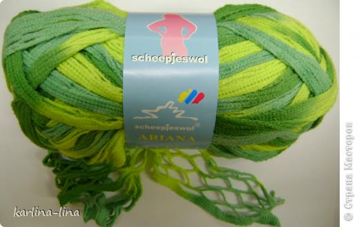 Зелёный шарфик фото 4