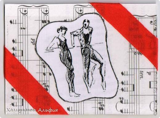 """На создание этой коллекции карточек АТС меня вдохновило прочтение книги И. Дешковой """"Загадки Терпсихоры"""". Художником картин с балеринами является Валерий Косоруков. Названия карточек придуманы мной. Художник оставил эти маленькие рисунки без названий.  PS: я не в обменном пункте. фото 5"""