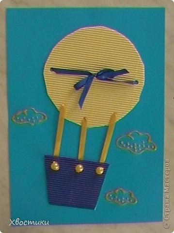 Мы с Тимофейкой сотворили пару открыточек. Представляю Вашему вниманию наши творения. Эту открыточку мы сделали нашей бабушке на день рождения. фото 8
