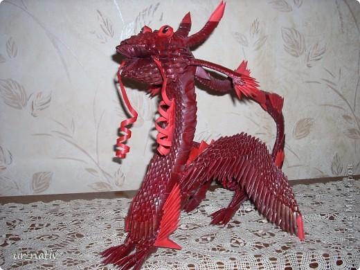 Мой красный дракон Бумага