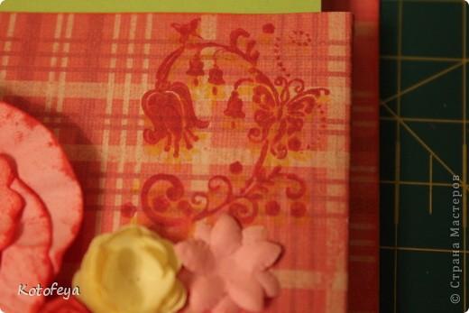 Научилась делать розочки. Вот решила сделать на холодильик под бумажки коробочку. фото 4