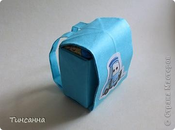 Ранец с конфетами. фото 1