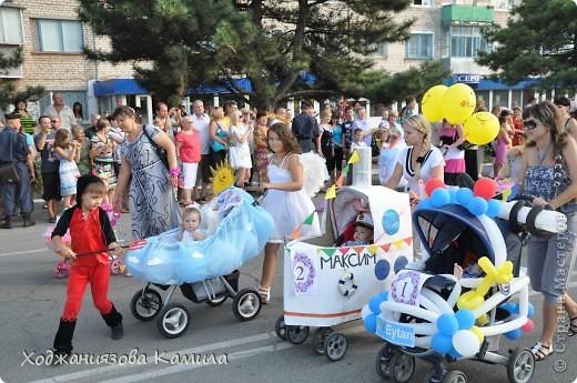 Парад колясок г. Днепрорудное 17/06/2011 фото 2