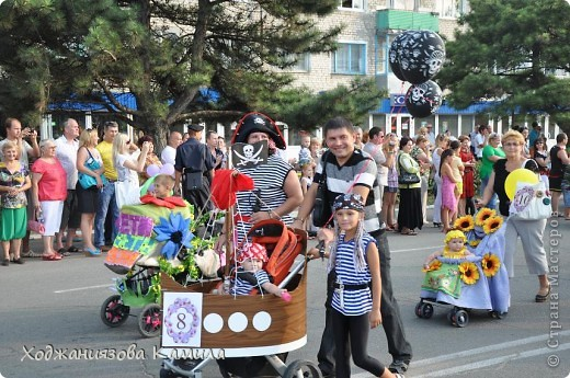 Парад колясок г. Днепрорудное 17/06/2011 фото 4