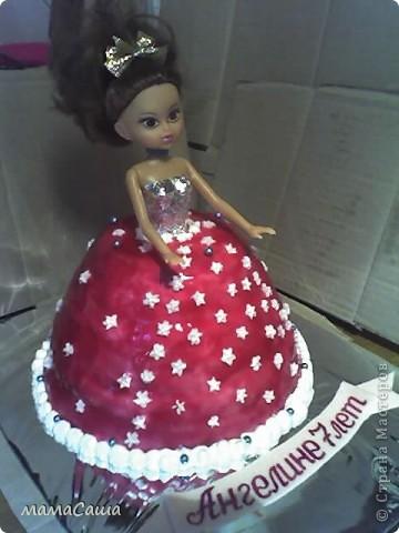 Вот такая Куколка получилась, вернее ее сладкий наряд фото 3