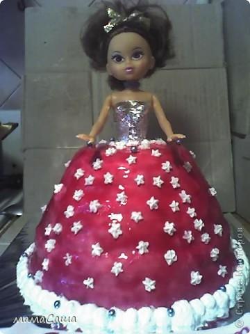 Вот такая Куколка получилась, вернее ее сладкий наряд фото 1